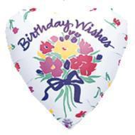 Birthday wishes floral bouquet